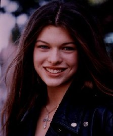 Milla when she was 16